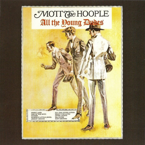 MOTT THE HOOPLE-ALL THE YOUNG DUDES CD VG
