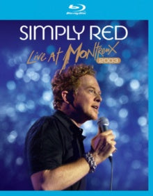 SIMPLY RED-LIVE AT MONTREUX 2003 BLURAY VG+