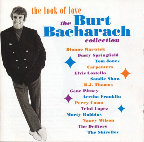 LOOK OF LOVE THE BURT BACHARACH COLLECTION-VARIOUS ARTISTS 2CD VG