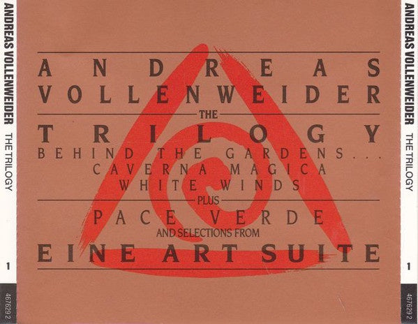 VOLLENWEIDER ANDREAS-THE TRILOGY 2CD VG