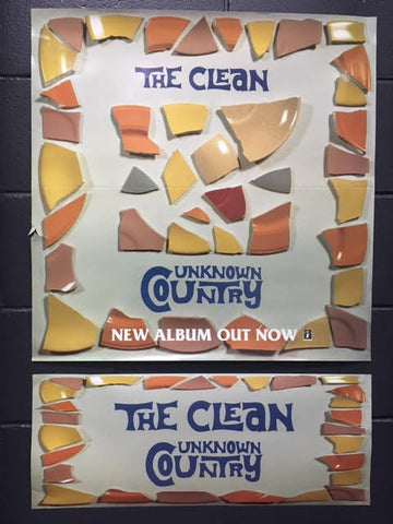 CLEAN THE - UNKNOWN COUNTRY PROMO POSTER