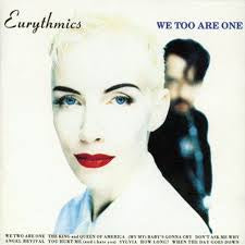 EURYTHMICS-WE TOO ARE ONE LP VG+ COVER VG