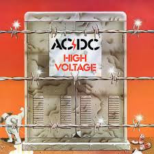 AC/DC-HIGH VOLTAGE LP EX COVER VG+