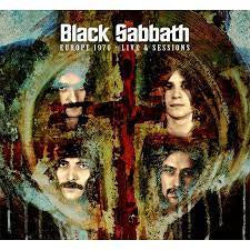 BLACK SABBATH-EUROPE 1970 LIVE & SESSIONS 2CD *NEW*