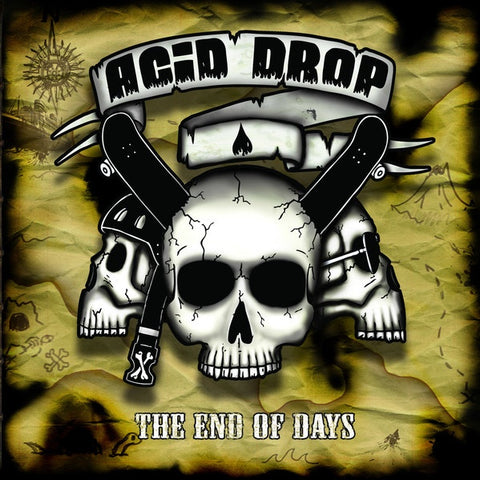 ACID DROP-THE END OF DAYS CD VG