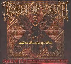 CRADLE OF FILTH-LIVE BAIT FOR THE DEAD ENHANCED 2CD *NEW*