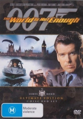 JAMES BOND 007 THE WORLD IS NOT ENOUGH 2DVD G