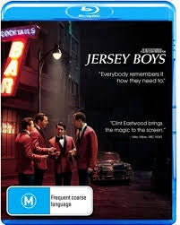 JERSEY BOYS BLURAY VG