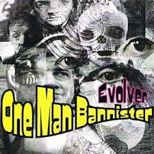 ONE MAN BANNISTER-EVOLVER CD VG