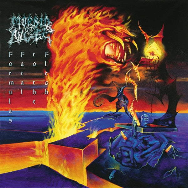 MORBID ANGEL-FORMULAS FATAL TO THE FLESH LIMITED EDITION VINYL 2LP *NEW*
