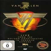 VAN HALEN-LIVE FROM THE MOLSON AMPHITHEATRE IN TORONTO CANADA AUGUST 1995 DVD VG+