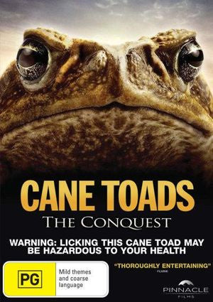 CANE TOADS THE CONQUEST DVD VG