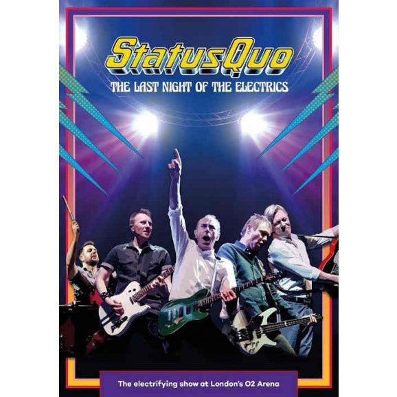 STATUS QUO-THE LAST NIGHT OF THE ELECTRICS DVD *NEW*
