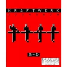 KRAFTWERK-3-D (1 2 3 4 5 6 7 8) BLURAY/ DVD *NEW*