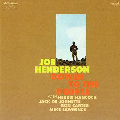 HENDERSON JOE-POWER TO THE PEOPLE CD *NEW*