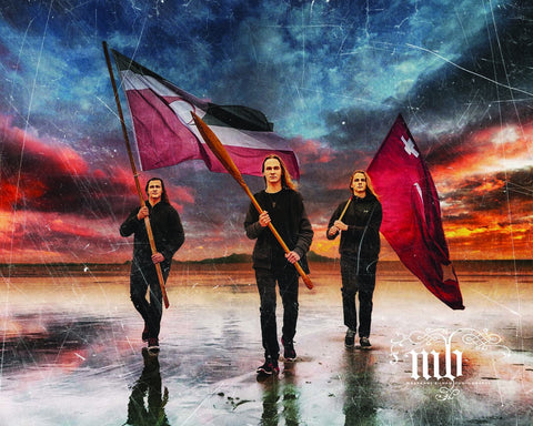 ALIEN WEAPONRY - LIMITED EDITION MARYANNE BILHAM PHOTOGRAPHIC PRINT *NEW*