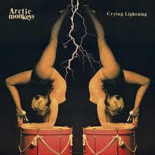 "ARCTIC MONKEYS-CRYING LIGHTNING 10"" VG COVER VG+"