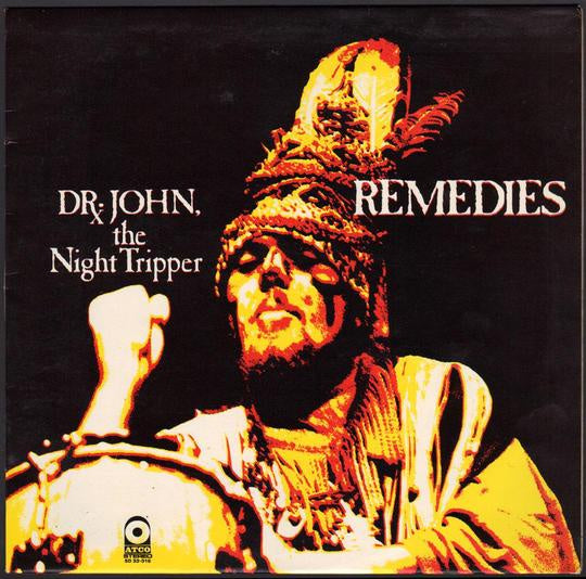 DR JOHN, THE NIGHT TRIPPER-REMEDIES MARDI GRAS SPLATTER VINYL LP *NEW*