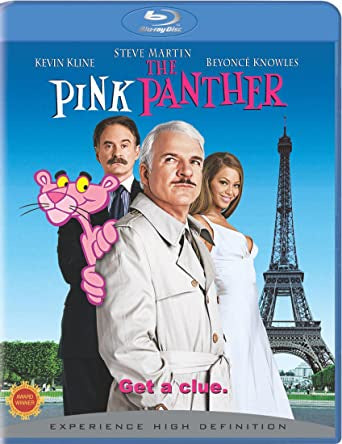 THE PINK PANTHER BLURAY  VG+