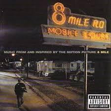 8 MILE OST-VARIOUS ARTISTS 2LP EX COVER VG+