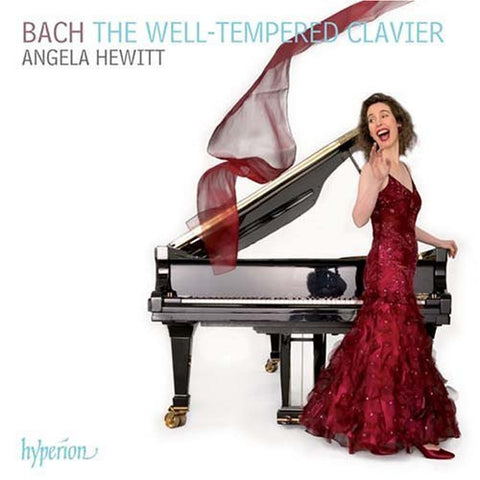 BACH-THE WELL TEMPERED CLAVIER ANGELA HEWITT *NEW*
