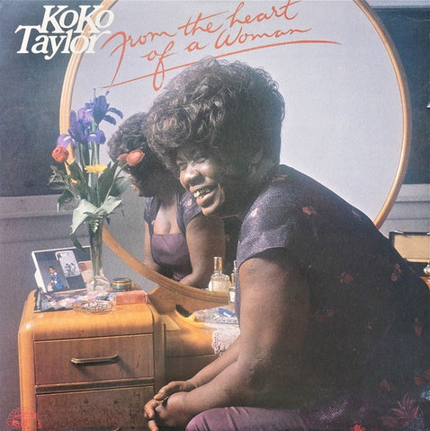 TAYLOR KOKO-FROM THE HEART OF A WOMAN LP VG+ COVER VG+