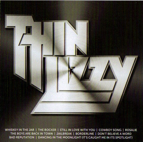 THIN LIZZY-ICON CD VG