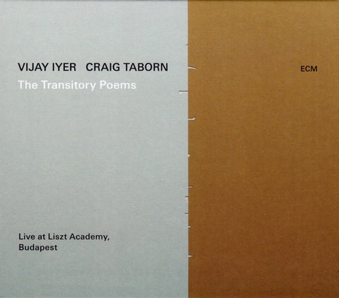IYER VIJAY & CRAIG TABORN-THE TRANSITORY POEMS CD *NEW*