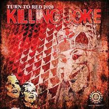 "KILLING JOKE-TURN TO RED 2020 12"" EP *NEW*"