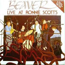 BEAVER-LIVE AT RONNIE SCOTT'S LP VG+ COVER VG+