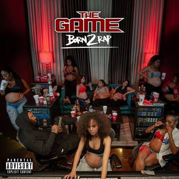 GAME THE-BORN 2 RAP RED/ WHITE/ BLUE VINYL 3LP *NEW*