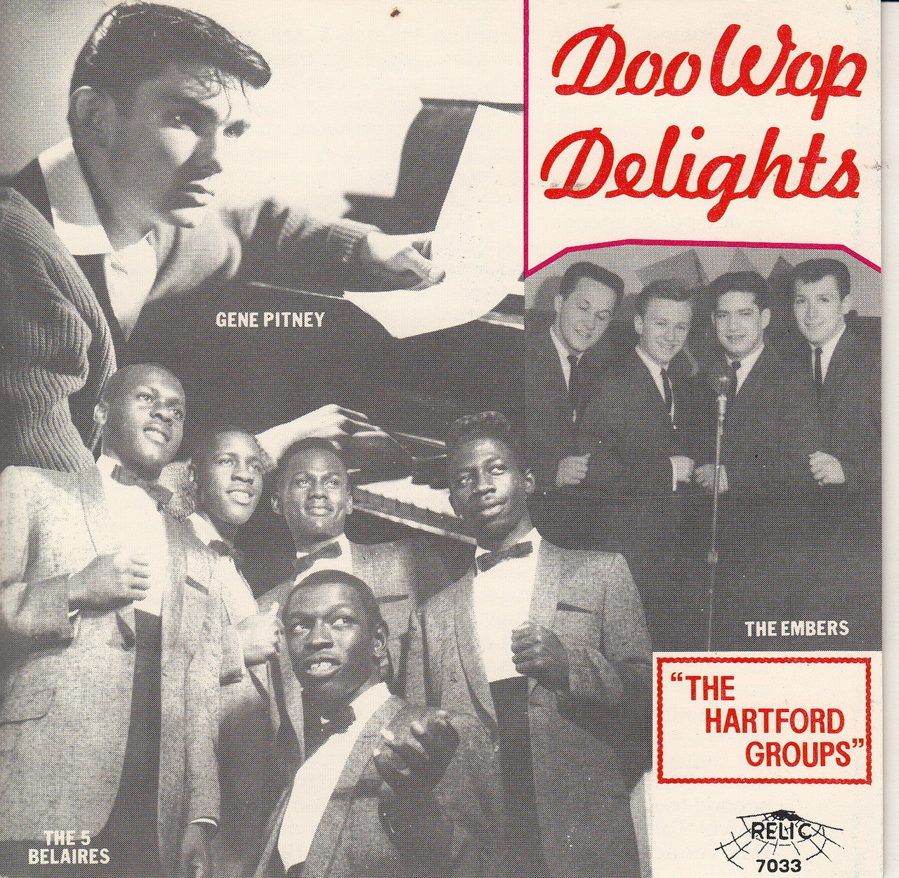 DOO WOP DELIGHTS-THE HARTFORD GROUPS V/A CD *NEW*