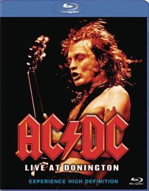 AC/DC-LIVE AT DONINGTON BLURAY VG+