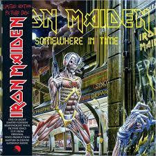 IRON MAIDEN-SOMEWHERE IN TIME PICTURE DISC LP *NEW*