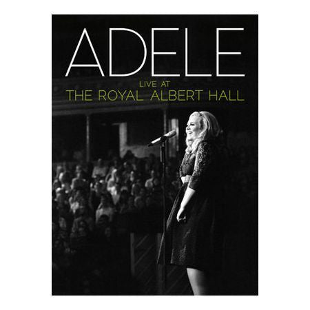 ADELE-LIVE AT THE ROYAL ALBERT HALL BLURAY+CD *NEW*