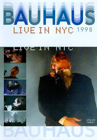 BAUHAUS-LIVE IN NYC 1998 DVD VG