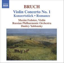 BRUCH-VIOLIN CONCERTO NO 1 CD VG