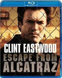 ESCAPE FROM ALCATRAZ-CLINT EASTWOOD BLURAY VG+