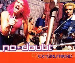 NO DOUBT-EX GIRLFRIEND CD SINGLE VG