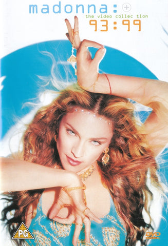 MADONNA-THE VIDEO COLLECTION 93-99 VG