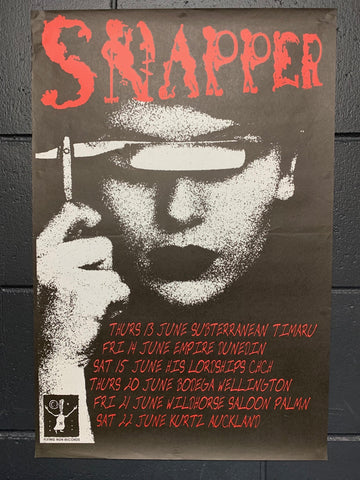 SNAPPER ORIGINAL TOUR POSTER