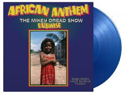 DREAD MIKEY-AFRICAN ANTHEM DUBWISE BLUE VINYL LP *NEW*