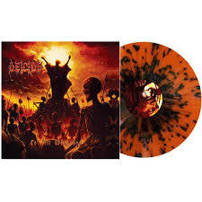 DEICIDE-TO HELL WITH GOD FIRE SPLATTER VINYL LP *NEW*