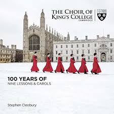 KING'S COLLEGE CHOIR-NINE LESSONS & CAROLS 2CD *NEW*