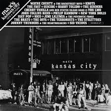 MAX'S KANSAS CITY-1976 & BEYOND-VARIOUS ARTISTS RED VINYL 2LP *NEW*
