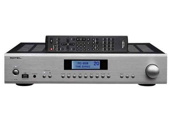 ROTEL A12 INTEGRATED AMPLIFIER SILVER *NEW*