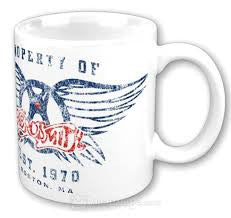 AEROSMITH-PROPERTY OF AEROSMITH MUG *NEW*