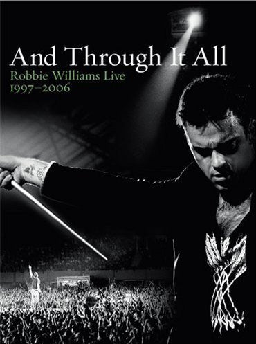 WILLIAMS ROBBIE-LIVE 1997 2006 AND THROUGH IT ALL DVD VG