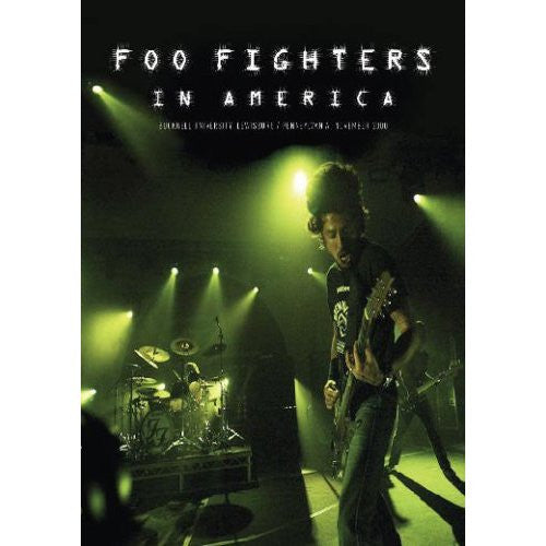 FOO FIGHTERS-IN AMERICA DVD *NEW*