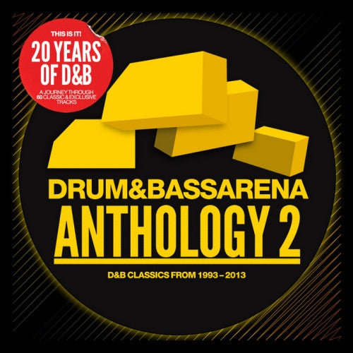 DRUMANDBASSARENA ANTHOLOGY 2 3CDS *NEW*